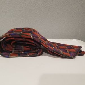J Garcia Accessories - J Garcia 2005 Tie Necktie 100% Silk Abstract Ties